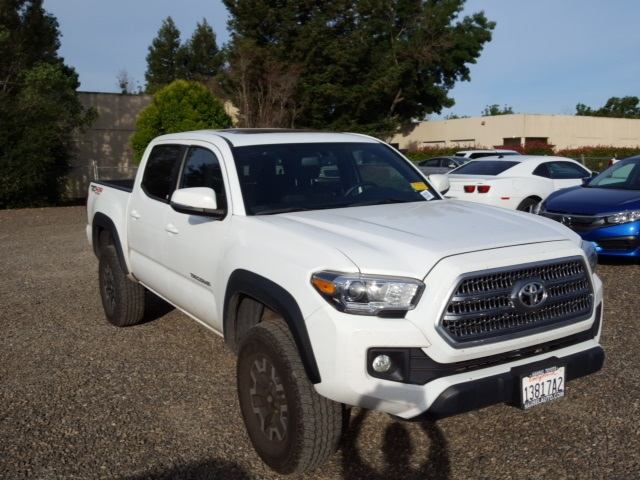 2016 Toyota Tacoma For Sale >> Pre Owned 2016 Toyota Tacoma Trd Offroad 4d Double Cab For Sale
