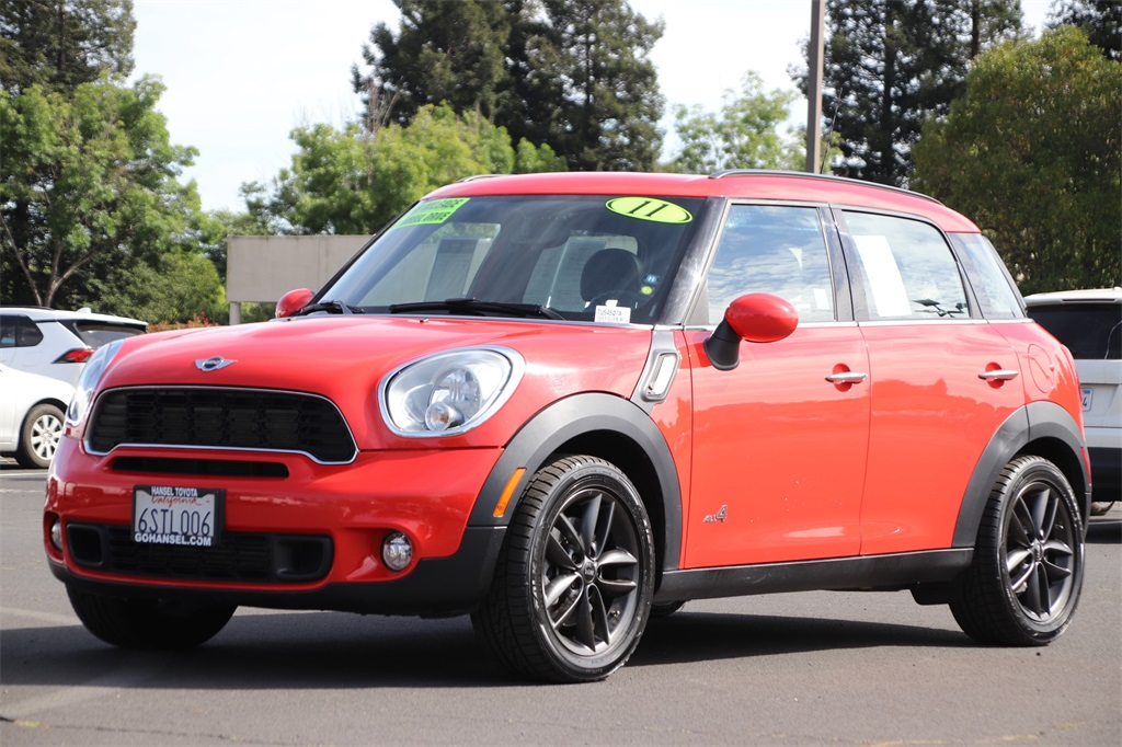 Pre-Owned 2011 MINI Cooper S Countryman ALL4